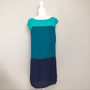 Colour Block Shift Dress
